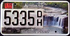 "KENTUCKY "" CUMBERLAND FALLS - NATURE`S FINEST - SPIRIT "" Specialty License Plate"