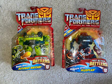 Transformers Revenge Of The Fallen Mudflap And Autobot Ratchet LOT Vintage NIB