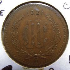 1921 Mexico 10 Centavos – Key Date – High Grade