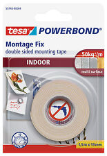 Extra Strong Tesa Double-Sided Indoor Mounting Tape
