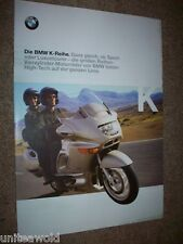 BMW K1200LT Bike Motor Cycle Catalogue Brochure year:1999 Book 19pages in GERMAN