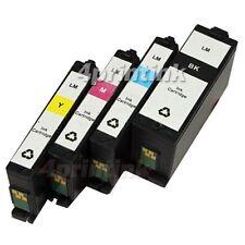 4 pack 150 Compatible Ink Cartridge Set For Lexmark Pro715  Pro915 Printer