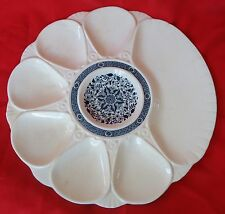 RARE  ANTIQUE ENGLISH MAJOLICA OYSTER  PLATE MINTON