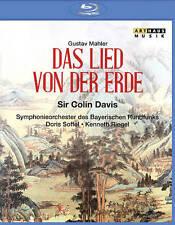 SIR COLIN DAVIS: GUSTAV MAHLER - DAS LIED VON DER ERDE (NEW BLU-RAY)