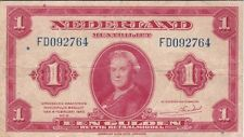PAYS-BAS : 1 GULDEN 1943 - P.64