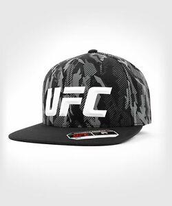 UFC VENUM MMA HAT CAP AUTHENTIC FIGHT NIGHT UNISEX WALKOUT HAT - CAMO BLACK
