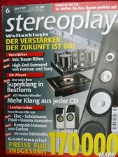 STEREOPLAY 6/99,DCS PURCELL,BOW ZZ EIGTH,SONY TAE TAF 9000 Es,HARMAN SIGNATURE 2