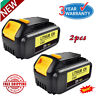 2X For DEWALT DCB200-2 DCB204 20V 4.0Ah 20Volt Max XR Lithium-Ion Battery Pack