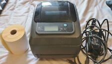 Zebra GX420T Thermal Transfer Label Printer 4x6 6x4 direct label wax PSU ups dhl