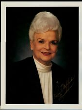 """Gov. of Arizona Rose Mofford 8.5""""x11"""" AUTOGRAPHED Glossy Card in gold sharpie"""