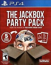 THE JACKBOX PARTY PACK ~ PlayStation PS4 FACTORY SEALED ~ VERY RARE!