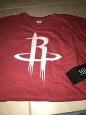 Houston Rockets 47 Brand Scrum Logo SS T-shirt XL