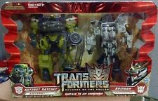 Transformers ROTF 2 Pack Ratchet Grindor Voyager Class