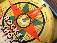 "Art Deco Tisch - Flipper Lindstrom Flipperspiel "" Rocket Shot "" Game Kugelspiel"