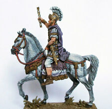 Lead soldiers Hand painted premium quality.Equestrian Roman military leader,rare