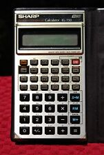 Sharp El-733 Financial Calculator Tested & Working - New Batteries Installed