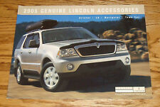 Original 2005 Lincoln Accessories Sales Brochure Aviator LS Navigator Town Car