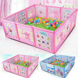 Baby Playpen Fence Plastic Baby Safety Fence Pool Folding Guard Protection Safe