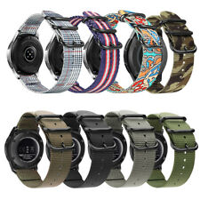 Soft Woven Nylon Watch Band Sport Strap For Samsung Gear S3 Classic / Frontier