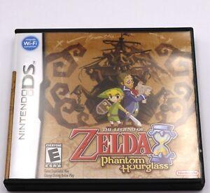 Legend of Zelda Phantom Hourglass Nintendo DS Game NDS 3DS New USA Ver. in Box