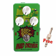 Biyang OD-10 Guitar Bass Effects Pedal Three Models Mad Drive Overdrive