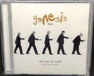 GENESIS - LIVE, THE WAY WE WALK, (VOLUME ONE:THE SHORTS), CD ALBUM.