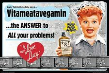 I LOVE LUCY - VITAMIN POSTER - 24x36 LUCILLE BALL TV SHOW 241333