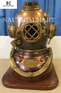 NauticalMart Scuba Divers Diving Helmet US Navy Mark V Deep Sea Marine