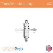 10x Transfer Impression Coping Close Tray for Dental Implant internal hex