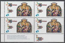 CANADA #1669 45¢ Christmas Madonna and Child LL Plate Block MNH