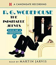 The Inimitable Jeeves - Vol2 New Audio CD Book P.G. Wodehouse, Martin Jarvis