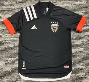 adidas MLS DC United 20/21 Authentic Home Jersey EH8688 Men's Size L