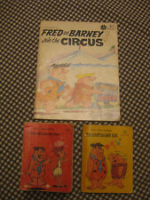 LOT 3 Flintstones Great Balloon Race, Friend from Past +Fred, Barney Join Circus