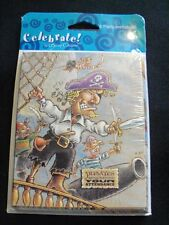 16  Pirate Birthday Party Invitations Treasure Loot