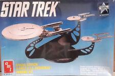 Vintage STAR TREK 3 Enterprise Chrome Model Kit- AMT ERTL- FREE S&H (STMO-6005)