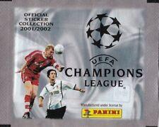 50 TÜTEN PACKET SOBRE POCHETTE Panini CHAMPIONS LEAGUE 2001/2002 01/02 -  TOP!