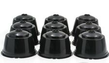 6 PACK Refillable Nescafe Dolce Gusto Capsules Reusable Pods Filters Cups BLACK