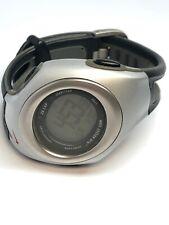 Nike Mens Digital Quartz Sport Watch Plastic And Stainless Steel