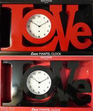 Mechanical Contemporary Desk, Mantel & Carriage Clocks