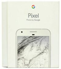 Genuine UK Original Google Pixel 128GB EMPTY BOX Retail Packaging - Very Silver