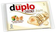 (100g=1,92€) Ferrero Duplo Chocnut White Weiße Schokolade Limited Edition 130g