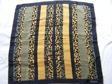 Daniel LAURENT Designer  hand rolled silk scarf