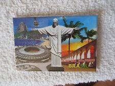 Brazilian ** { Rio de Janeiro } ** Refrigerator - Magnet*** Free  Shipping**