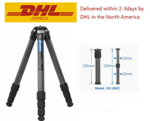 Leofoto LS-324C Tripod Professional Carbon Fiber with center column/Case