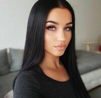 Human Hair Lace Front Wigs Brazilian Remy Natural Straight Real Human WigS US