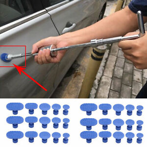30PCS Car Body Paintless Dent Repair Tools Auto Dent Puller Car Accessories Kits