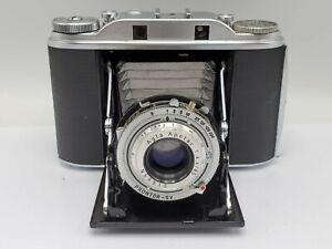 Vintage Agfa Isolette III Folding 6x6 Film Rangefinder Camera - Apotar 85mm F4.5