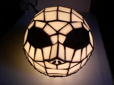 Nightmare Before Christmas  Tim Burton Disney  Jack  head  Tiffney Style  Lamp
