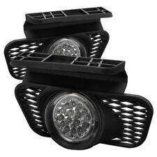 Chevy 03-06 Silverado Avalanche LED Bumper Fog Lights w/ Wire+Switch Full Set
