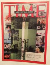 911 1 YEAR LATER TIME MAGAZINE SEPTEMBER 11 2002 VERY GOOD